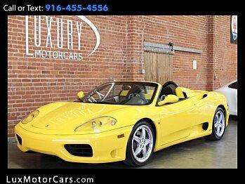 2001 Ferrari 360 Spider for sale 101023040