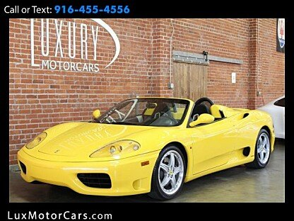 2001 Ferrari 360 Spider for sale 100953749