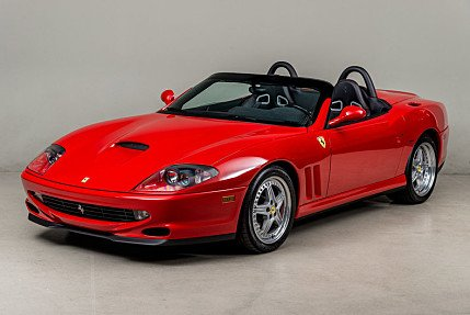 2001 Ferrari 550 Maranello Barchetta for sale 100747984