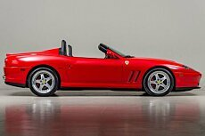 2001 Ferrari 550 Maranello Barchetta for sale 100791411