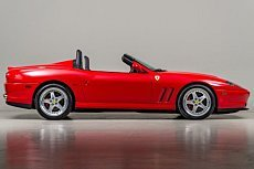2001 Ferrari 550 Maranello Barchetta for sale 100853299