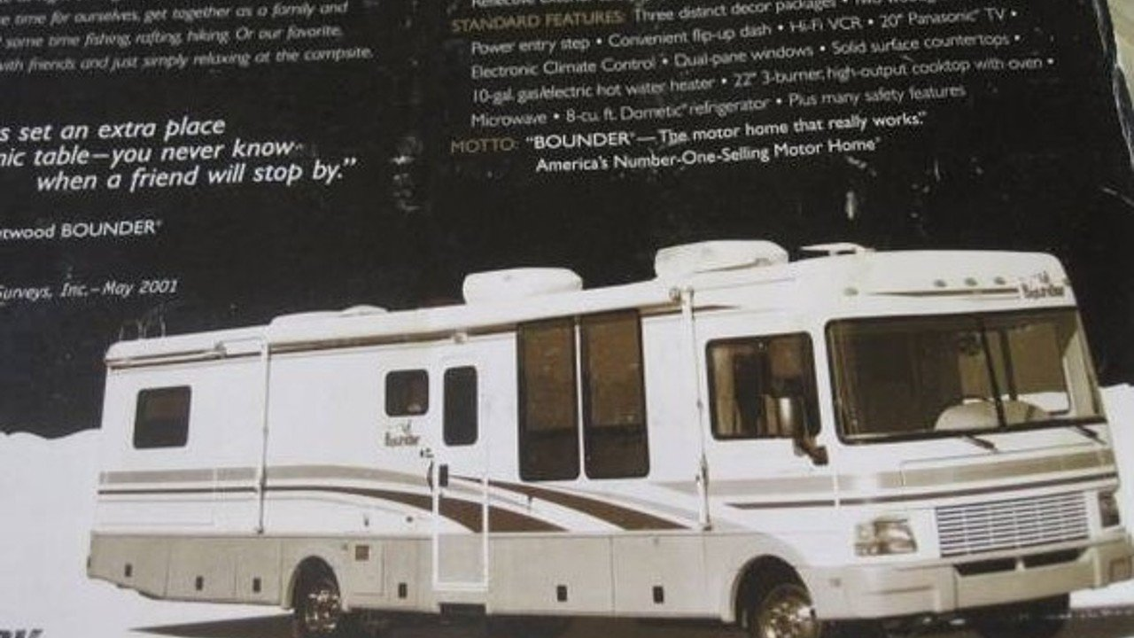 2001 Fleetwood Bounder for sale 300144264