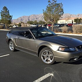 2001 Ford Mustang Cobra Convertible for sale 100740632