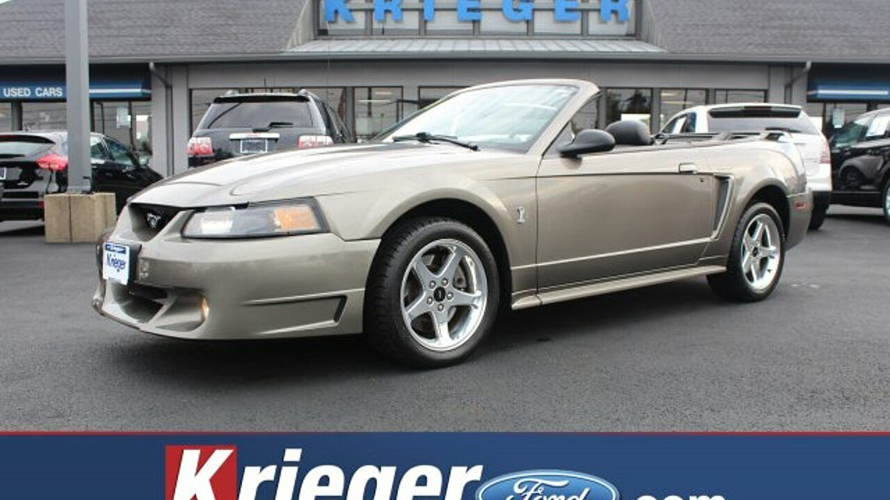 2001 Ford Mustang Cobra Convertible for sale 101027484