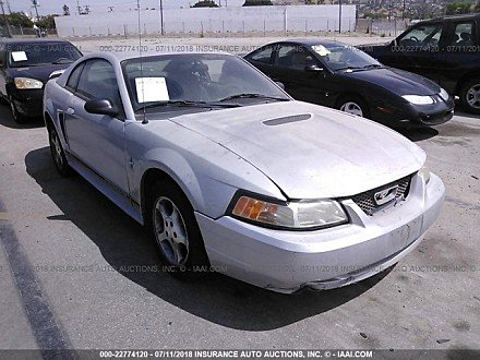 2001 Ford Mustang Coupe for sale 101015986