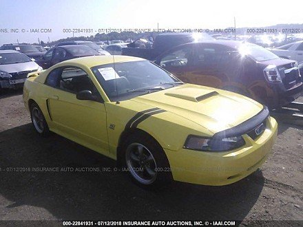 2001 Ford Mustang GT Coupe for sale 101016028