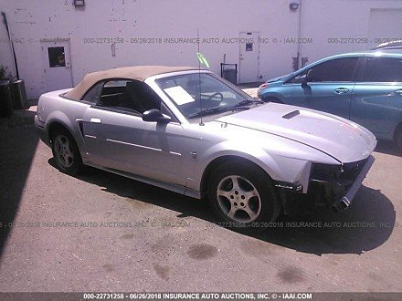 2001 Ford Mustang Convertible for sale 101016041