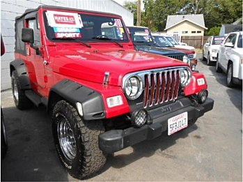 2001 Jeep Wrangler 4WD Sport for sale 100986257