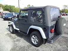 2001 Jeep Wrangler 4WD SE for sale 100870146