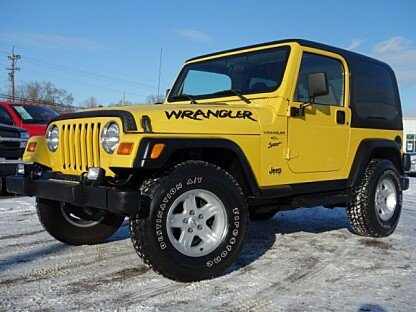 2001 Jeep Wrangler 4WD Sport for sale 100974672
