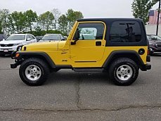 2001 Jeep Wrangler 4WD Sport for sale 100987314