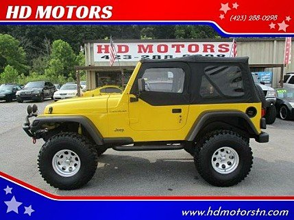 2001 Jeep Wrangler 4WD SE for sale 101028240