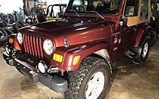 2001 Jeep Wrangler 4WD Sahara for sale 101043795
