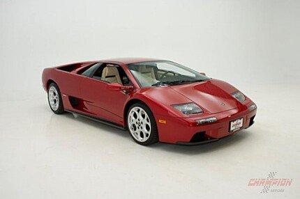 2001 Lamborghini Diablo VT 6.0 Coupe for sale 100977394