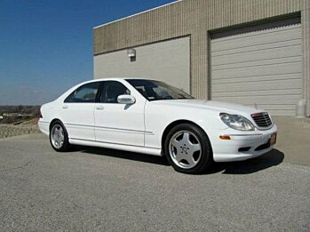 2001 Mercedes-Benz S55 AMG for sale 100721092