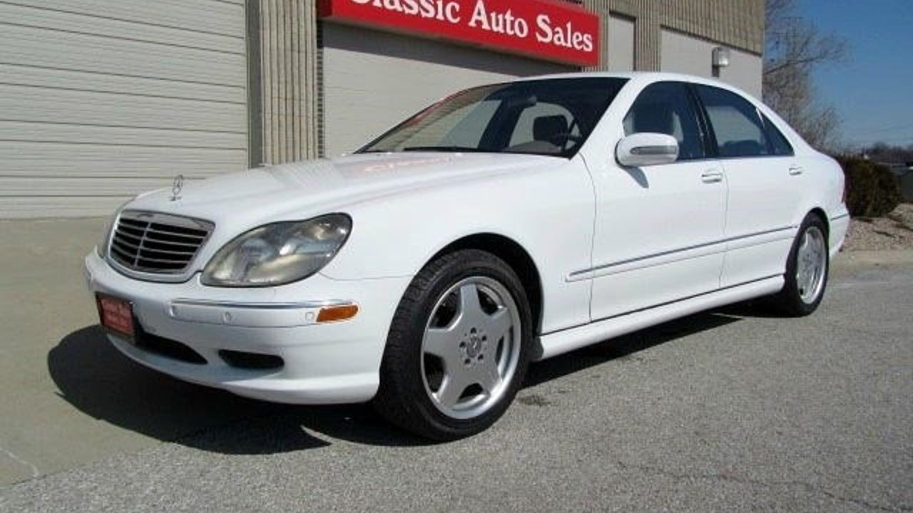 2001 mercedes benz s55 amg for sale 100721092