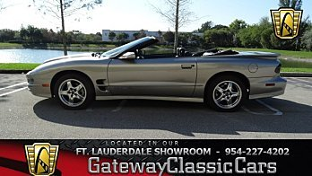 2001 Pontiac Firebird Trans Am Convertible for sale 100963685