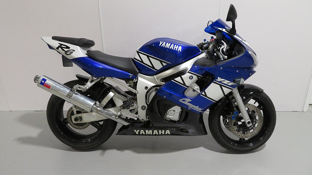2001 Yamaha YZF-R6 for sale 200620512