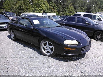2001 chevrolet Camaro Coupe for sale 101015203