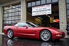 2001 chevrolet Corvette Convertible for sale 101006312