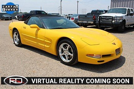 2001 chevrolet Corvette Convertible for sale 101009584