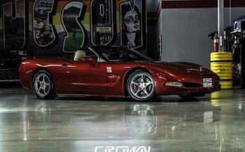 2001 chevrolet Corvette Convertible for sale 101017162