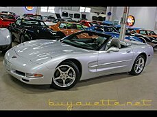 2001 chevrolet Corvette Convertible for sale 101022008