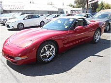 2001 chevrolet Corvette Convertible for sale 101029995