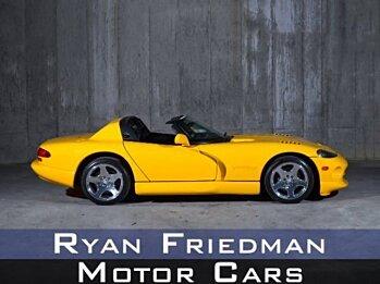 2001 dodge Viper RT/10 Roadster for sale 101018441