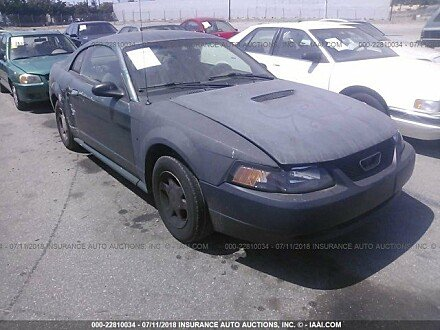 2001 ford Mustang Coupe for sale 101015965