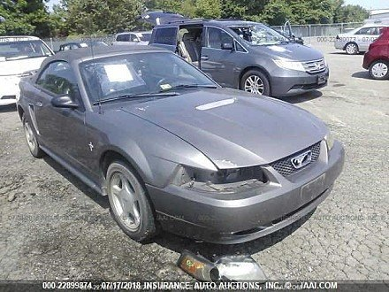 2001 ford Mustang Convertible for sale 101016050