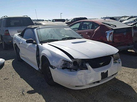 2001 ford Mustang GT Convertible for sale 101033033