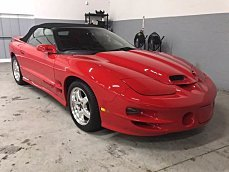 2001 pontiac Firebird Trans Am Convertible for sale 100988093