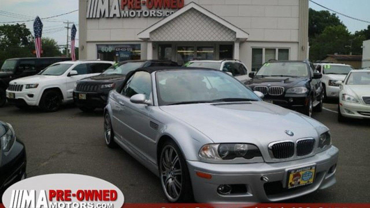 2002 BMW M3 Convertible for sale 101000699