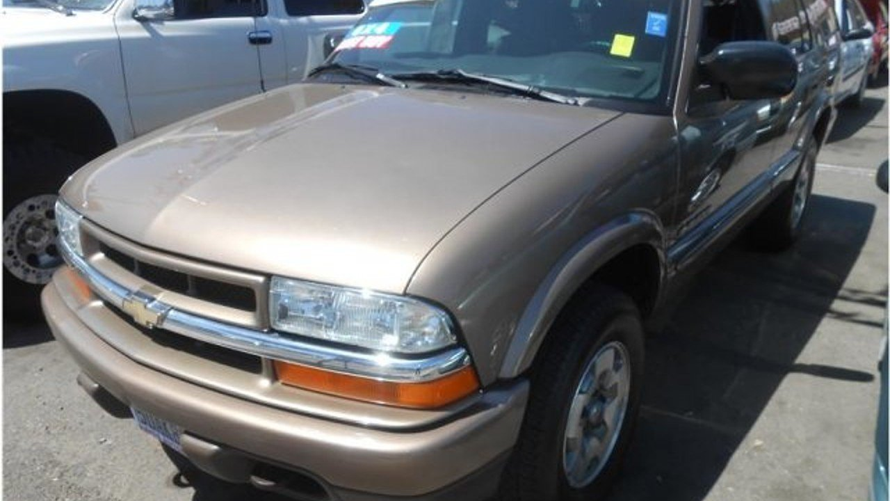 Blazer chevy blazer 2002 : Blazer » 2002 Chevy Blazer For Sale - Old Chevy Photos Collection ...