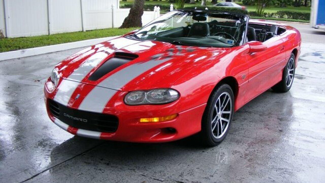 2002 Chevrolet Camaro Z28 Convertible for sale 101009907