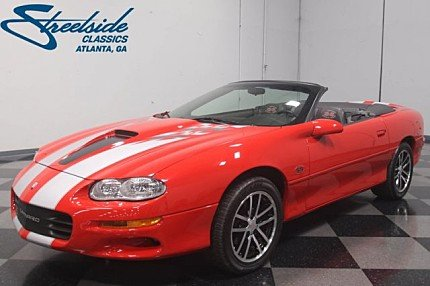 2002 Chevrolet Camaro Z28 Convertible for sale 100970156