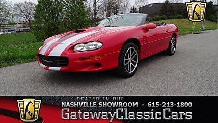 2002 Chevrolet Camaro Z28 Convertible for sale 100974241
