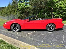 2002 Chevrolet Camaro Z28 Convertible for sale 100983338