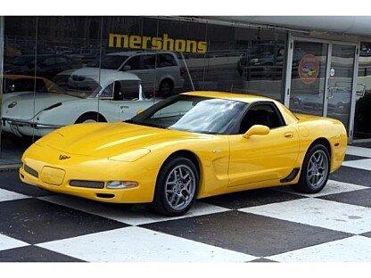 2002 Chevrolet Corvette Z06 Coupe for sale 100757782
