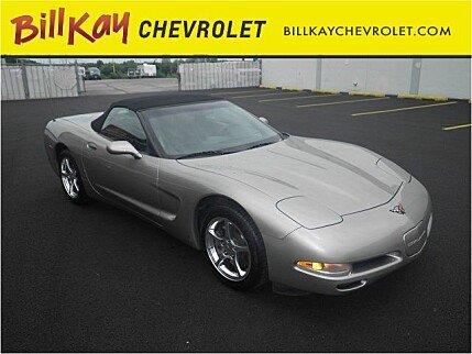 2002 Chevrolet Corvette Convertible for sale 100774405