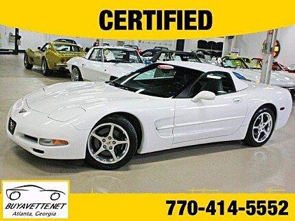 2002 Chevrolet Corvette Convertible for sale 100789964