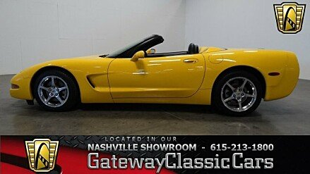 2002 Chevrolet Corvette Convertible for sale 100806152