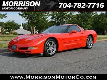 2002 Chevrolet Corvette Coupe for sale 100781977