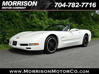 2002 Chevrolet Corvette Convertible for sale 100883261