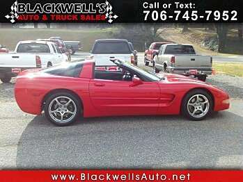 2002 Chevrolet Corvette Coupe for sale 100928198