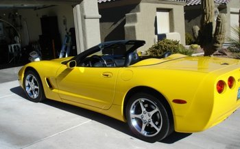 2002 Chevrolet Corvette Convertible for sale 100742129