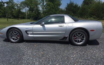 2002 Chevrolet Corvette Z06 Coupe for sale 100782726