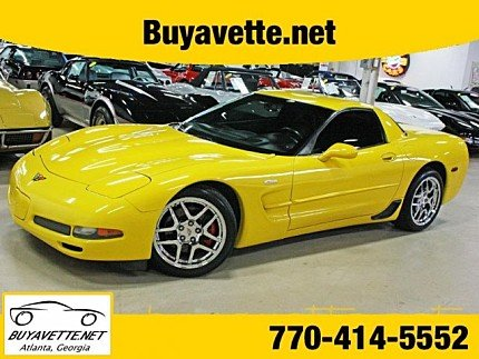 2002 Chevrolet Corvette Z06 Coupe for sale 100863395