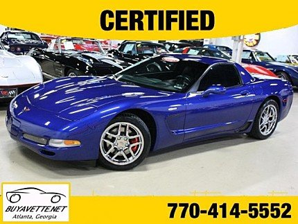 2002 Chevrolet Corvette Z06 Coupe for sale 100863404